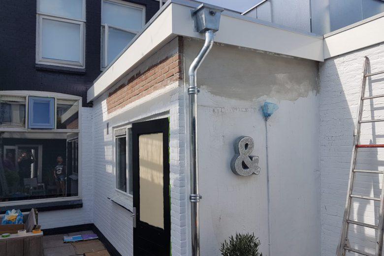 Bijkeuken nieuw dak isolatie dak 2