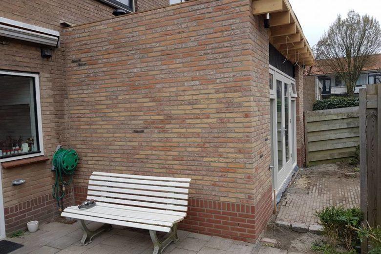 Alkmaar aanbouw woonkamer, nieuwe keuken, plafond 7