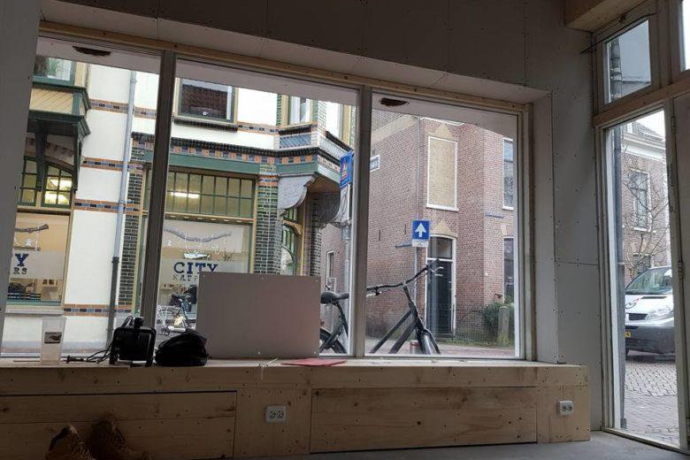 Oud winkelpand aan huis Alkmaar