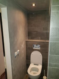 Oud pand Alkmaar Moderniseren, keuken, toilet, badkamer, plafond Bouwbedrijf Zeegers